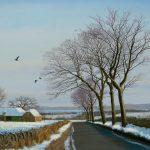 Alister Lindsay_Snow-Thaw, Strath-Tay_Oils_18.5x13.5_750