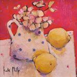 Kate Philp_Spotty Mug of Lemons_oils_395_8x8