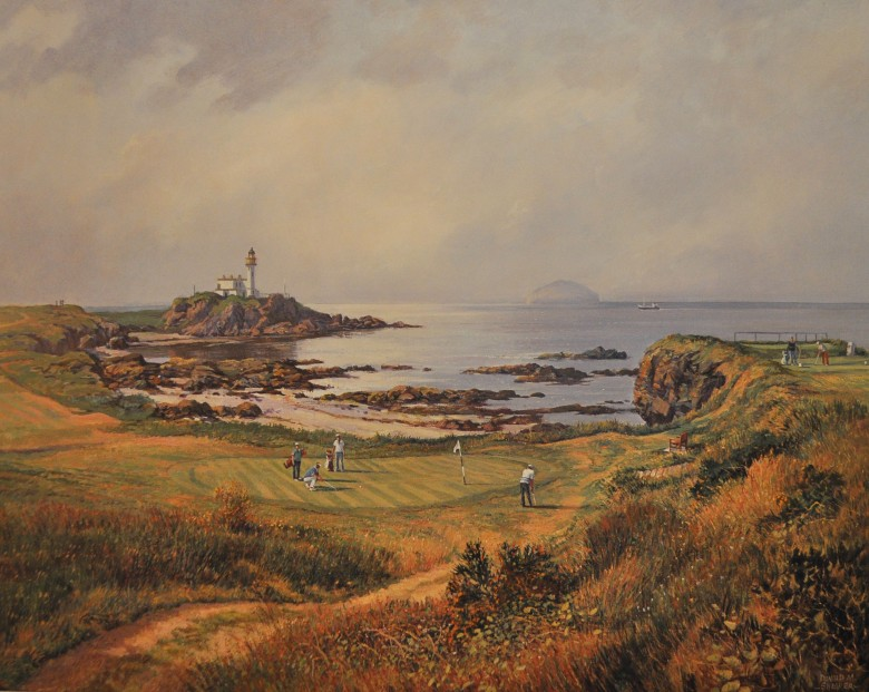 Donald Shearer_SH03.The.Ailsa.Course.Turnberry.20x25.