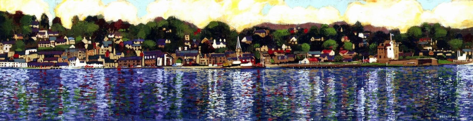 Stephen French_Broughty Ferry (Choppy)_14.5x3.75_40