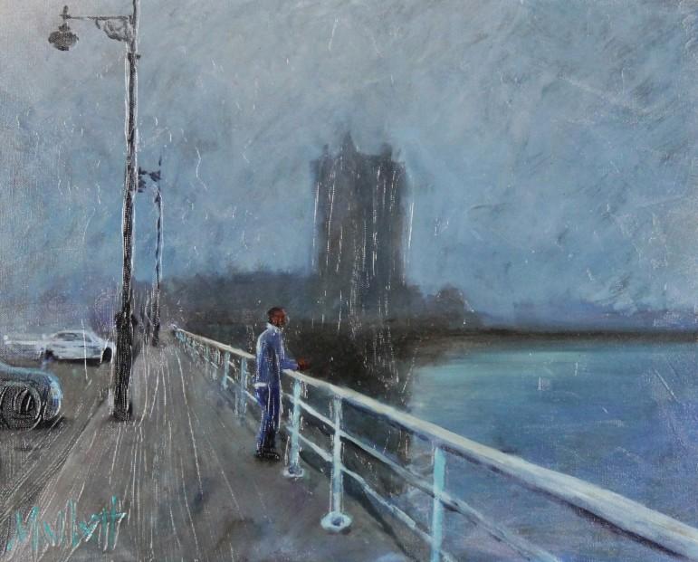 Timmy Mallett_Mist, Broughty Ferry_16x19