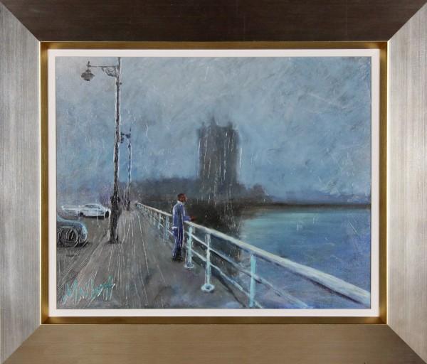 Timmy Mallett_Mist, Broughty Ferry_23x27_Framed Print on Canvas