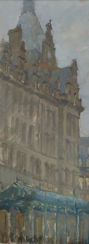 Fedor Gridnev_Glasgow Central Station_Oils_20x8_1.900