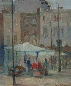 Fedor Gridnev_Street Market_Oils_12x10_1.100
