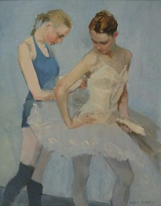 Valeriy Gridnev_Two Dancers_Oils_15x12_2.500.jpg