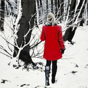 Gerard Burns_Red Coat in Winter_395