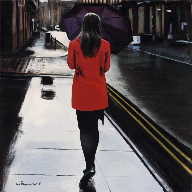 Gerard Burns_Red Coat in the City_395