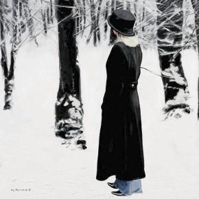 Gerard Burns_Walk Through Trees in Winter_395