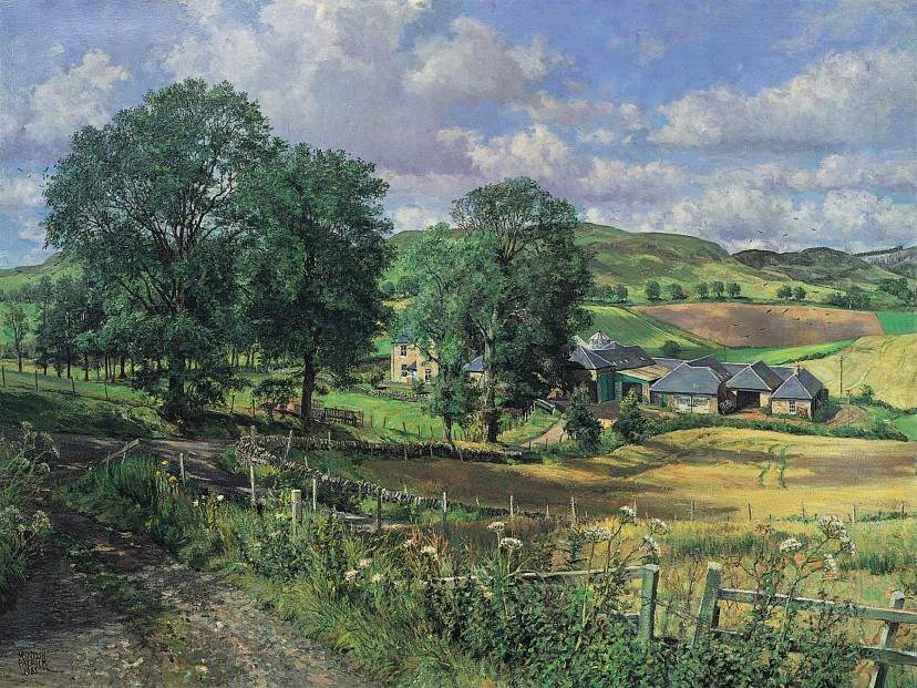 James McIntosh Patrick_Balshando Farm_12x16.25