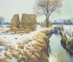 James McIntosh Patrick_December Sunshine, Millhill_17x20.25
