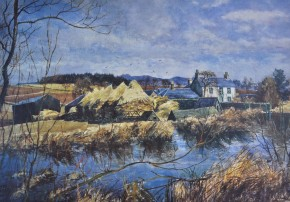James McIntosh Patrick_Millhall Farm_14x20