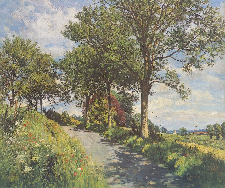 James McIntosh Patrick_Summer in Angus_15x18.5