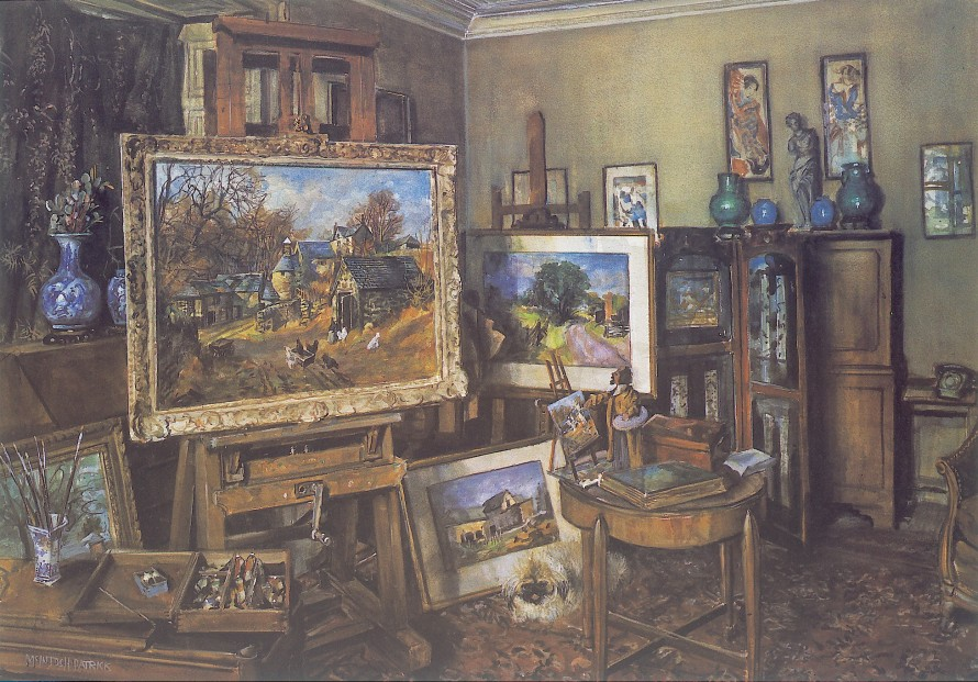 James McIntosh Patrick_The Artists Studio (1984)_14x20