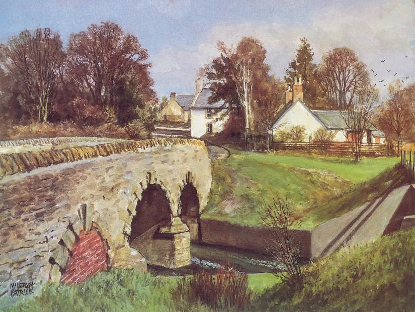 James McIntosh Patrick_The Old Toll_12x16