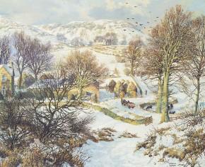 James McIntosh Patrick_Winter at Lundie_16.5x20.5