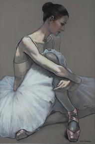 Katya.Gridneva.Dancer.Pastels.Image.size.35x23.5inches.4900.