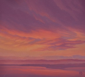 Ken Bushe_Sunset_oils_395.