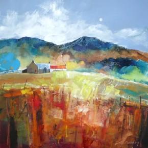 Dugald Findlay_Hill Farm, Perthshire_12x12