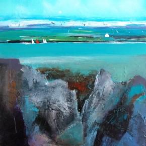Dugald Findlay_Spring Sails_12x12