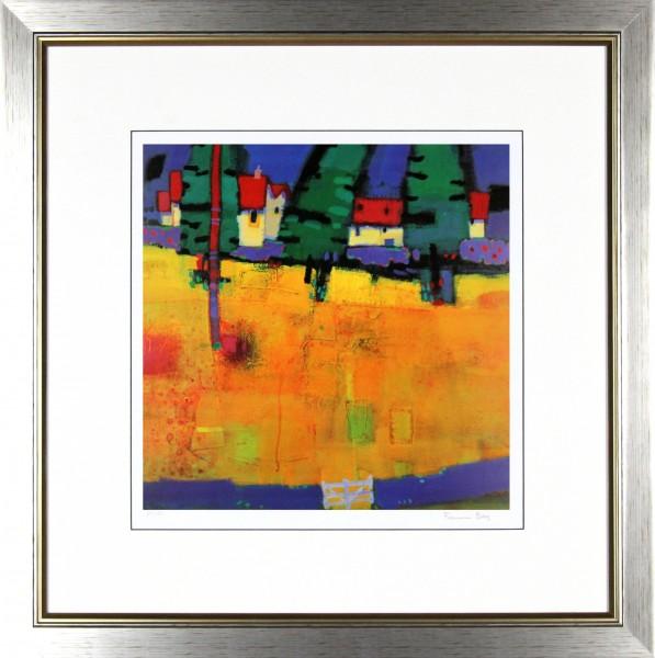 Francis Boag_Golden Field_25.5x25_Framed Print