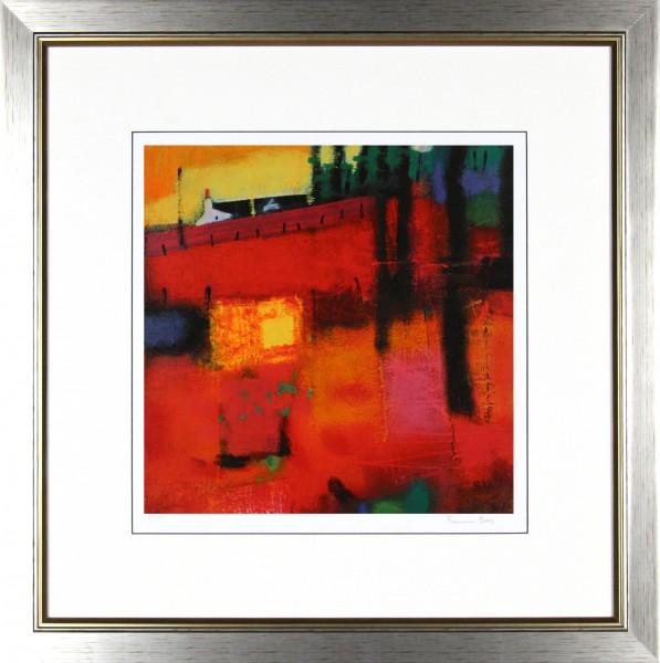 Francis Boag_Golden Gateway_25.5x25_Framed Print