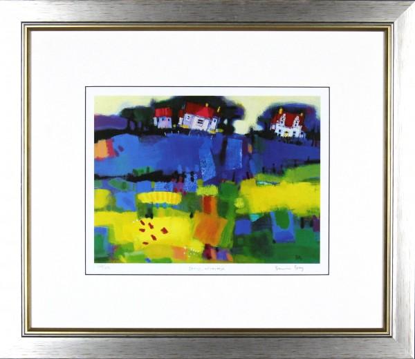 Francis Boag_Spring Windyedge_21.5x24.5_Framed Print