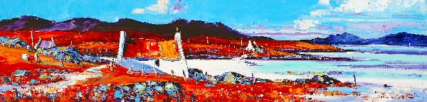 Jean Feeney_Shore Cottages, Isle of Barra_5.25x22