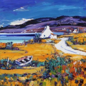 Jean Feeney_Towards Polbain and Achiltibuie_17x17