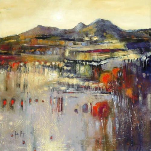 Kate Philp_Eildon Hills__20x20