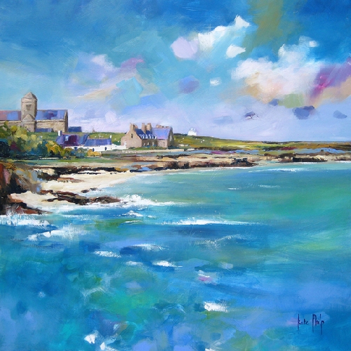 Kate Philp_Iona Village_17x17