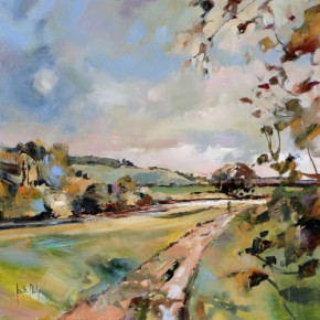 Kate Philp_Late Afternoon, Whiteadder_9x9
