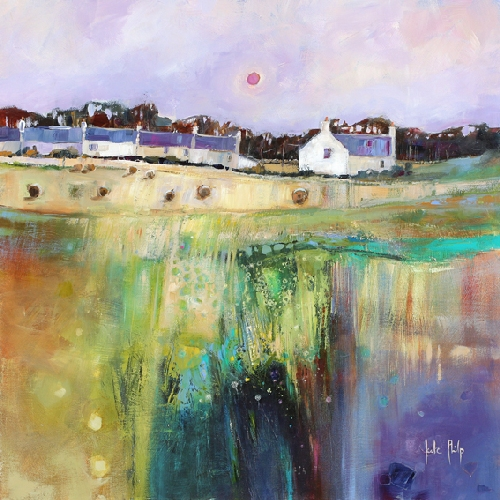 Kate Philp_Midsummer Fields, Perthshire_17x17