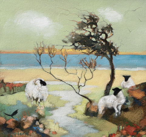 Lesley McLaren_A Windy Day at Sea_8.5x9