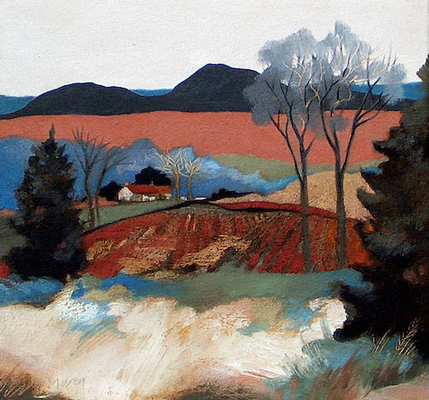 Lesley McLaren_At the Foot of the Hills_6x5.5