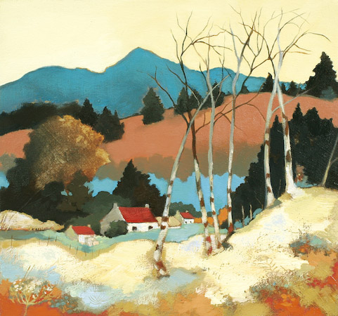Lesley McLaren_Autumn Cottages_8.5x9