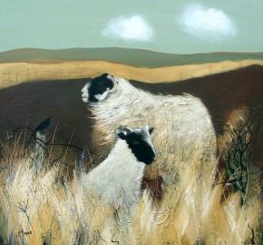 Lesley McLaren_Blackies on Moorland_6x5.5