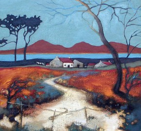 Lesley McLaren_Farmstead by the Sea_6x5.5