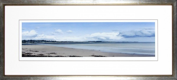 Ian Johnstone_Monifieth and Buddon Ness_16x40_Framed Print
