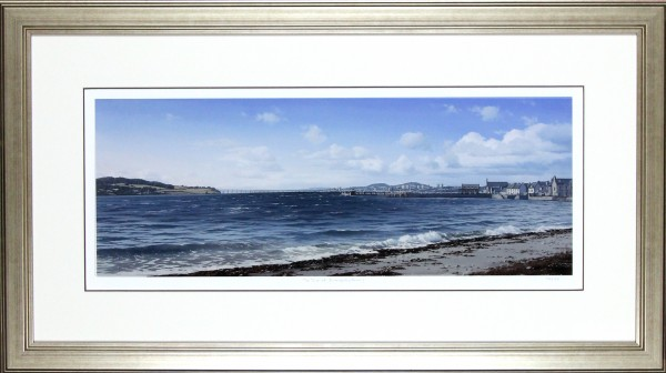 Ian Johnstone_The Tay at Broughty Ferry_21x37.5_Framed Print