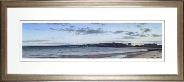 Ian Johnstone_Twilight, The Esplanade_21x46.5_Framed Print copy