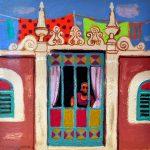 Leon Morrocco RSA RGA_Window in Seville_Oils_8x8