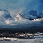 Philip Raskin_Coastal Blues_Oils_11.75x31_375