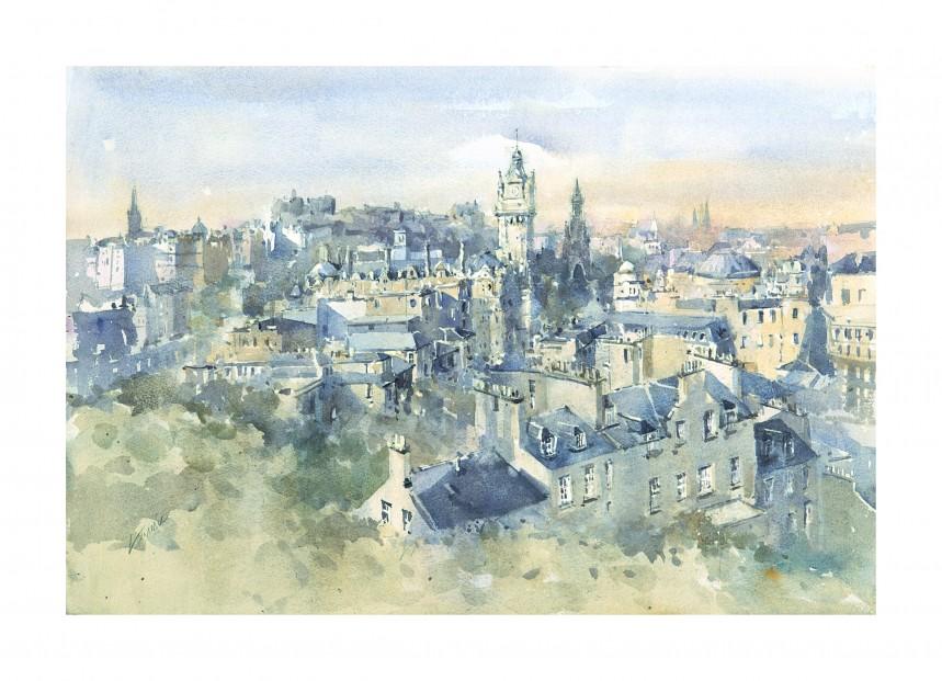 Stuart Lammie_Edinburgh from Calton Hill