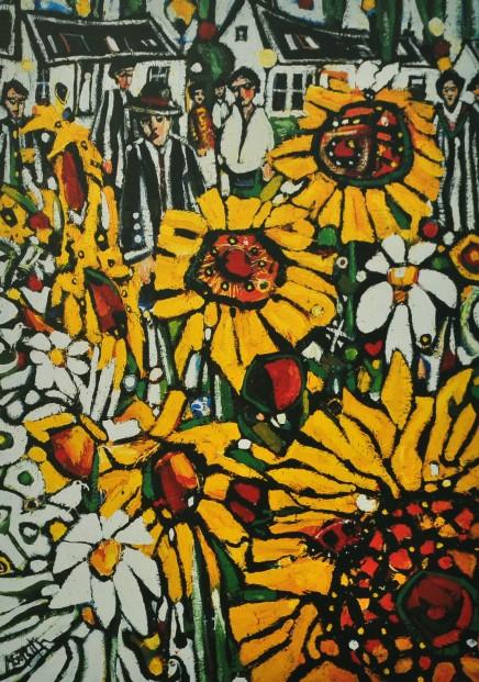 C. Monteith Walker_Sunflowers_14x10