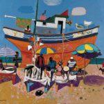 LM07_Leon Morrocco_The Orange Boat
