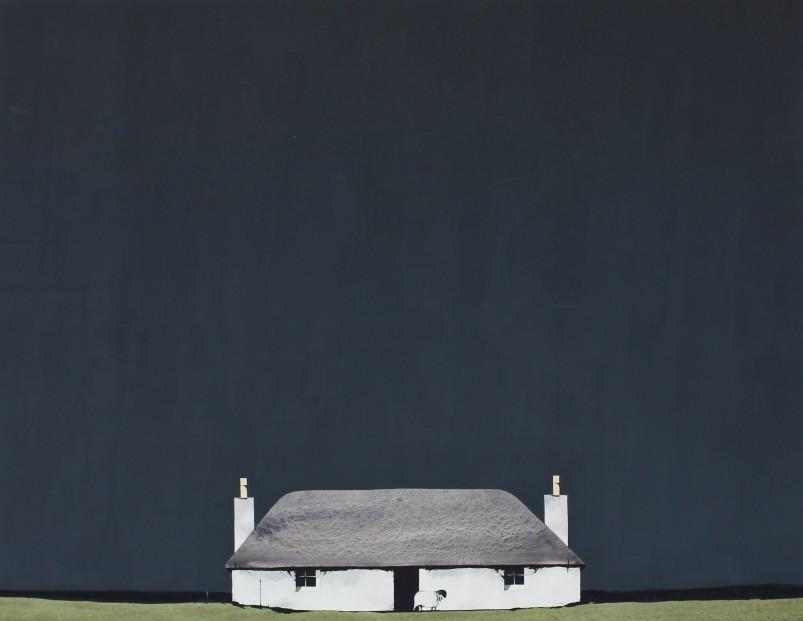 P9_Ron Lawson_Gearraigh Na Monadh, South uist_Watercolour & Gouache_13x26_695