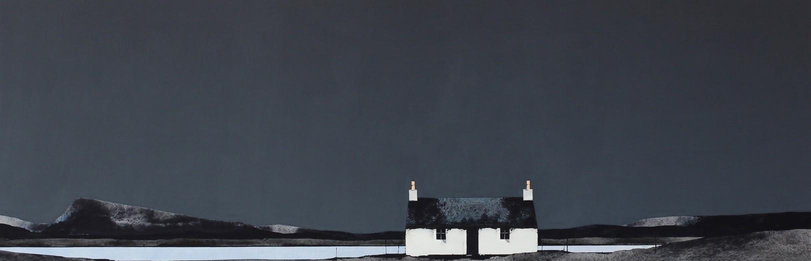 Ron Lawson_EAS204_Bagh Mor by Eaval, North Uist_13x38.5