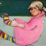 Basia Roszak_Socks_Oils_19.5x19.5_600