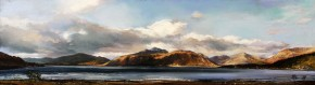 21_Fiona Haldane_The Shores OF Ballahulish_Pastel_6x21