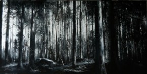 30_Fiona Haldane_Sentinels of Light, Hermitage_Pastel_12x24